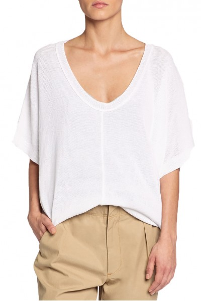 Brochu Walker - Celia Tee - Salt White