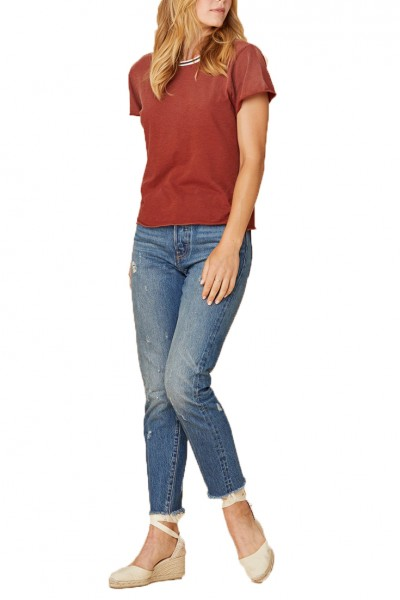 LNA - Women's Campus Tee - Rust