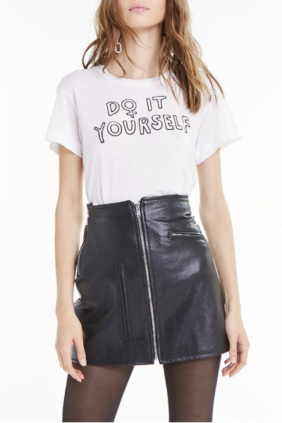 Wildfox - SP19A - Do It Yourself No9 Tee - Vanilla