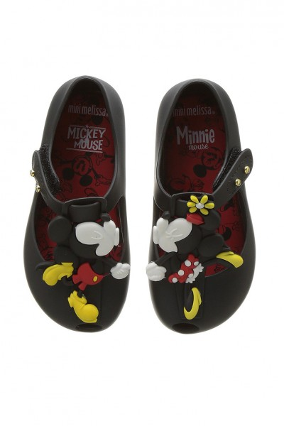 Mini Melissa - Kids Ultragirl+Disney - Black