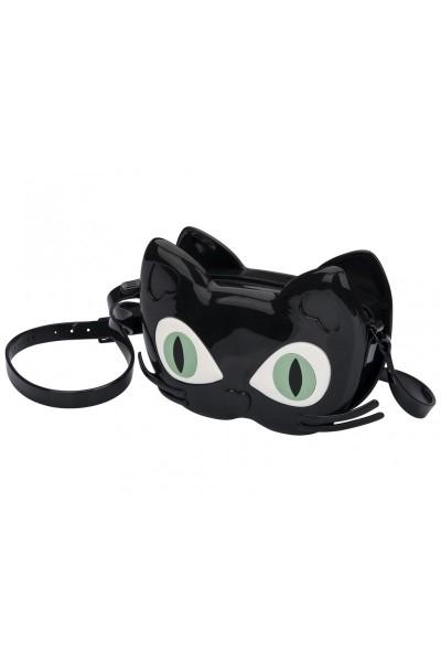 Mini Melissa - Kids Scented Cat Rubber Bag - Black