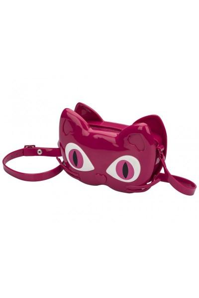 Mini Melissa - Kids Scented Cat Rubber Bag - Dark Pink