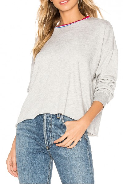 LNA - Women's Heather Lore Sweatshirt - Heather Grey