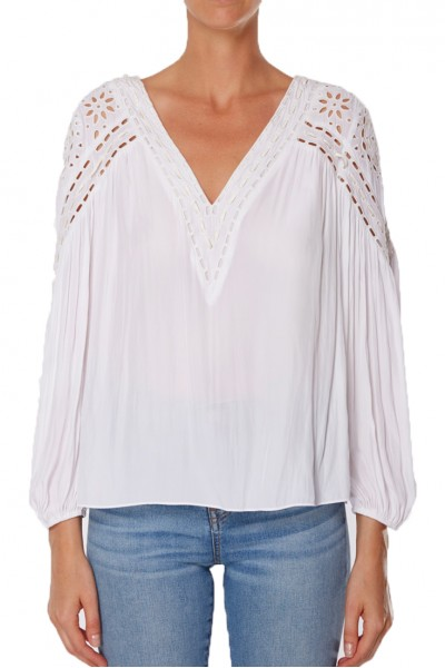 Ramy - Sp19C - Komi Top - Ivory