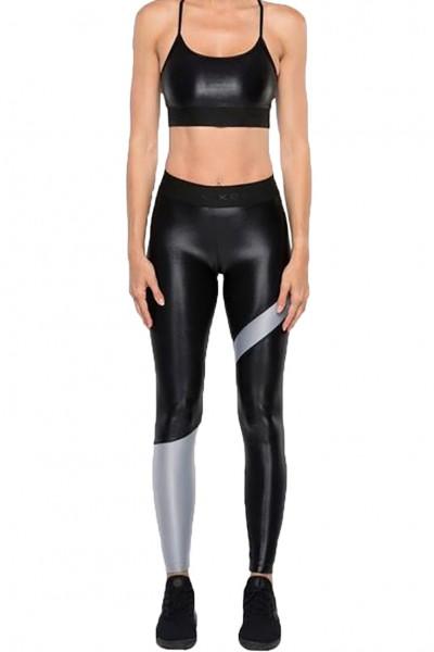 Koral - Women's Appeal Hr Energy Legging - Black Meteorite Grey