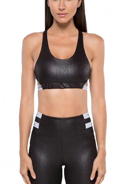 Koral - Women's Beta Obscure Sports Bra - Black