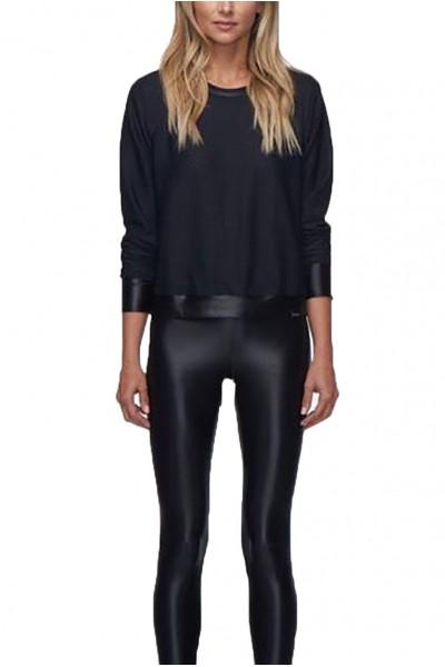 Koral - Women's Sofia Pullover - Black