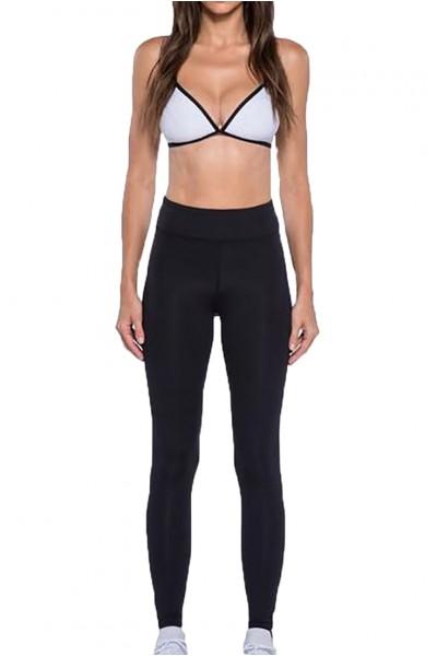 Koral - Women's Primary High Rise Legging - Black White