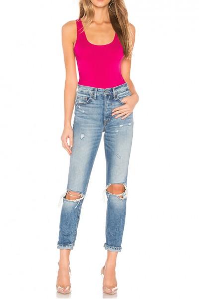 Ow Intimates - Women's Hanna Bodysuit - Hot Pink