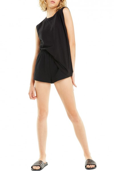 Wildfox - SP19A - Vintage Muscle Tank - Jet Black