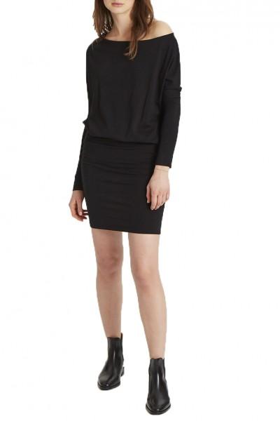 Grey State - Mira Dress - Deep Black