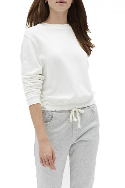 Grey State - SERA SWEATSHIRT - Spa White