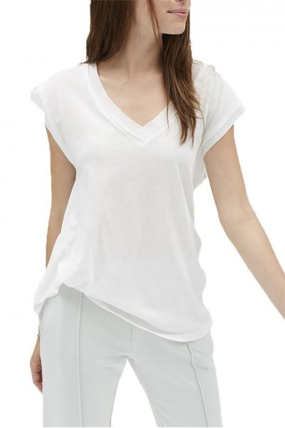Grey State - LYRA TEE - Spa White