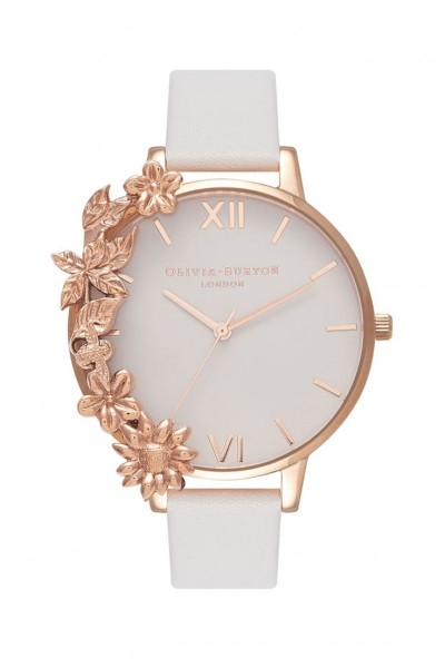 Olivia Burton - Women's Case Cuff Watch - Blush Rose Gold