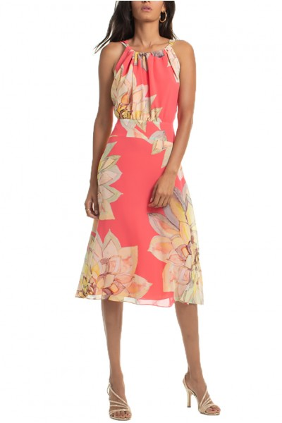 Trina Turk - SP19A - Summery Dress - Pink Grapefruit