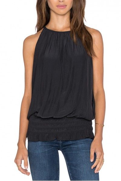 Ramy - Sleevless Lauren Top - Black