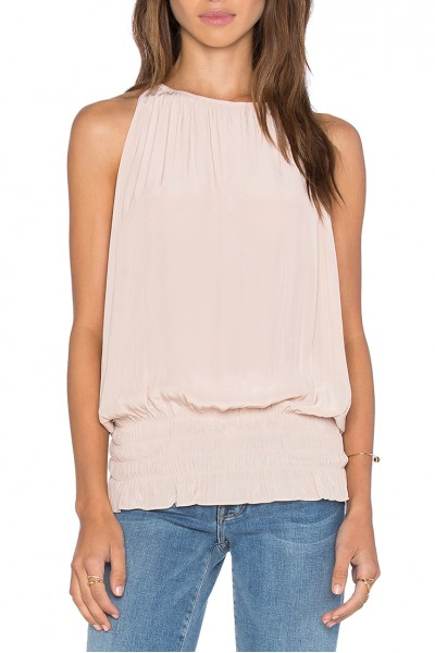 Ramy - Sleevless Lauren Top - Blush