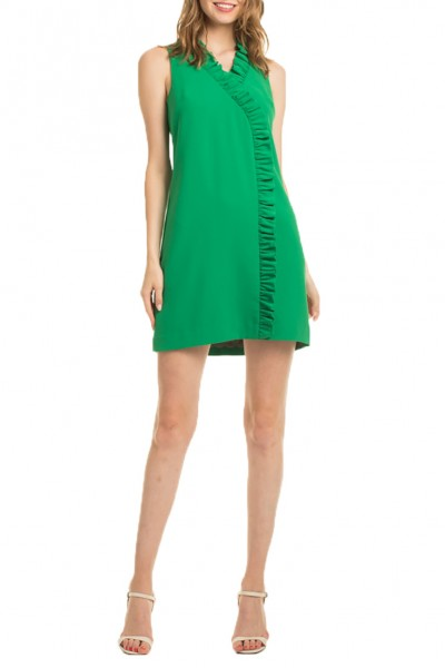 Trina Turk - SP19A - Relaxtion Dress - Kelly Green