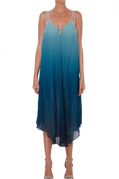 Ramy - Viola Dress - Dark Teal Combo