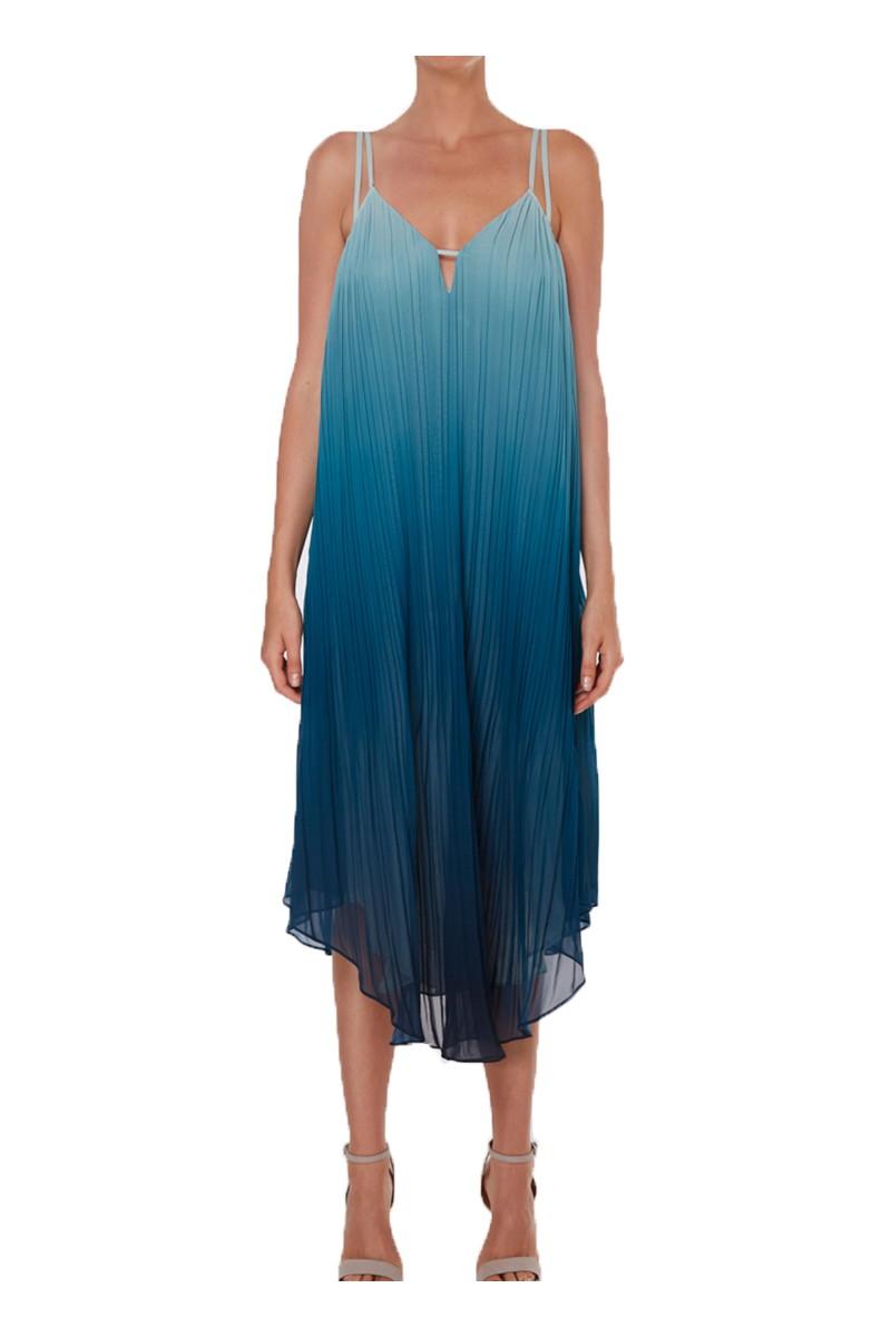 Ramy - SP19A - Viola Dress - Dark Teal Combo