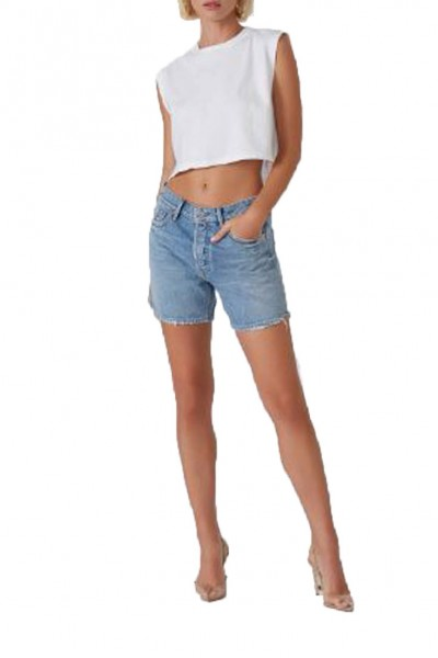 Grlfrnd - Jourdan Low Rise Tomboy Short - Venice
