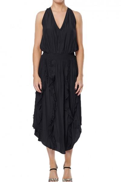 Ramy - Vanesa Japanese Tech Dress  - Black