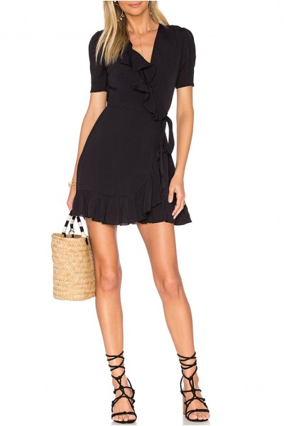 Privacy Please - Women's June Dress - Black