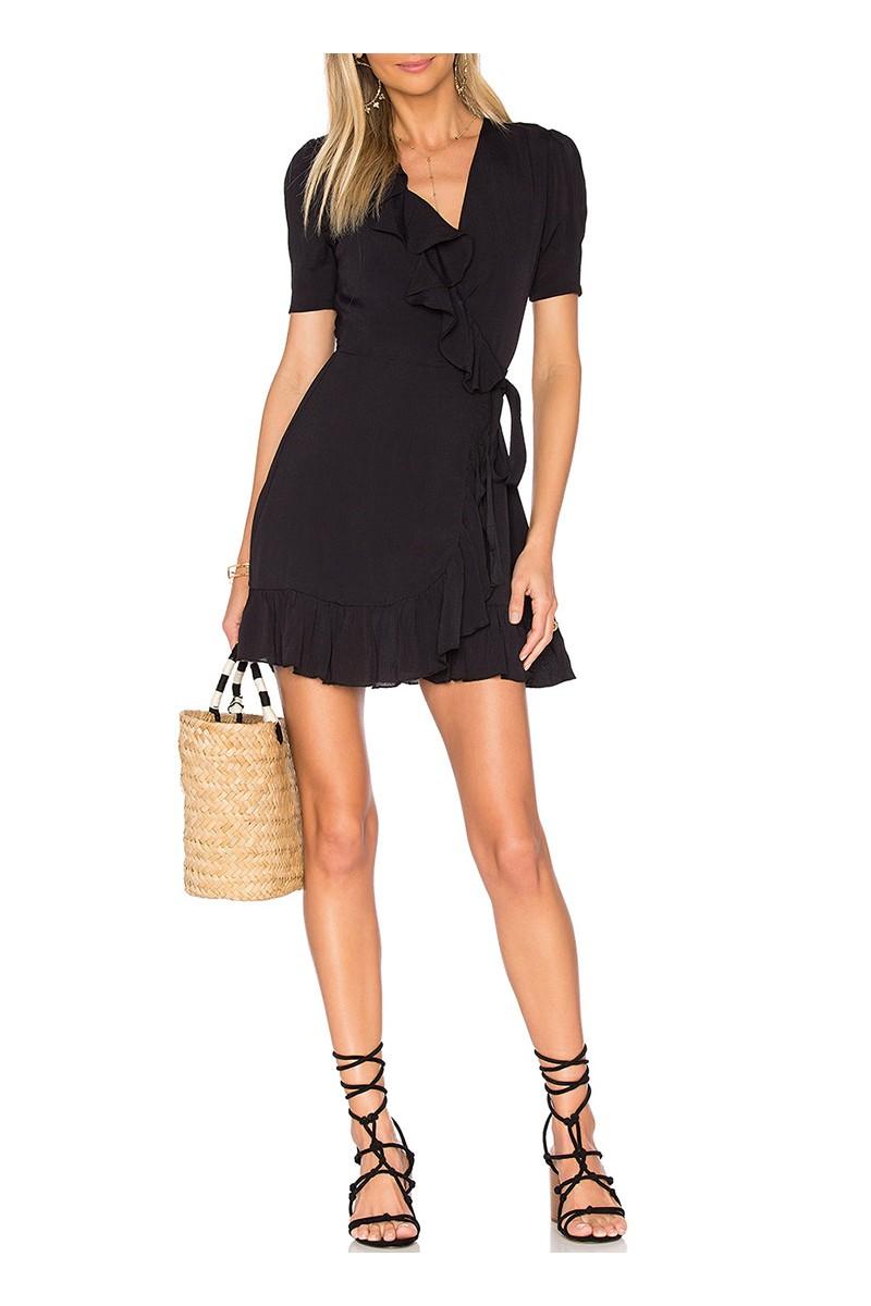 Privacy Please - Women's June Dress - Black