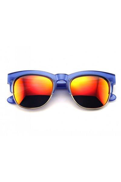 Wildfox Sunglasses - Club Fox Deluxe Frame - Transparent Purple / Purple