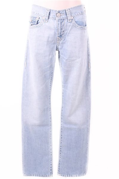 Final Sale True Religion - Ricky W/ Flap BXBL Rolling Ice Men's Jeans