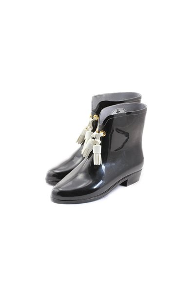 Final Sale Melissa Black X Vivienne Westwood Ankle Boot lii - Black