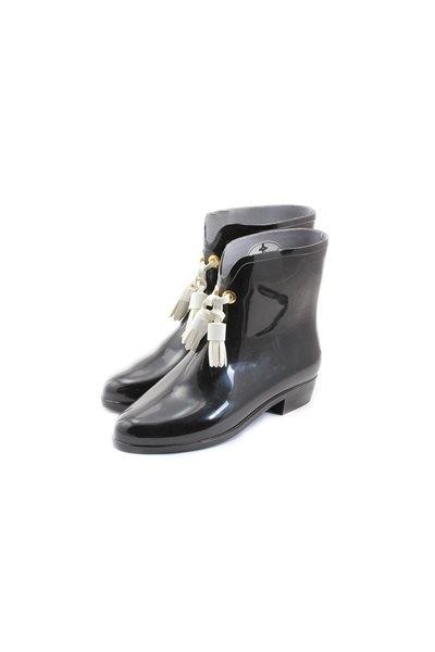 Melissa Black X Vivienne Westwood Ankle Boot lii - Black
