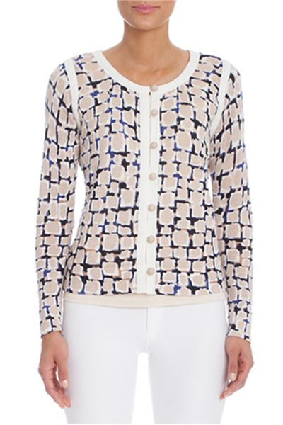 Nic+Zoe - Loopy Button Cardigan - Multi