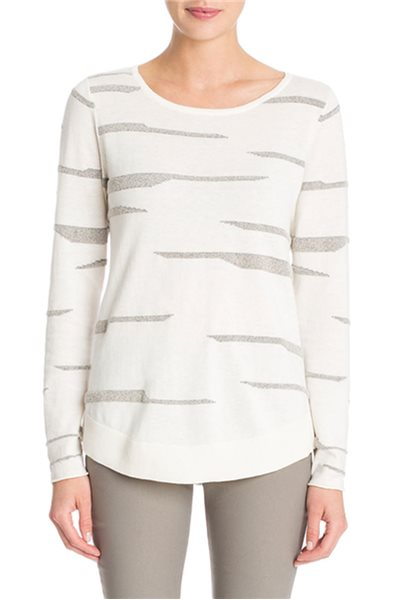 Nic+Zoe - Silverlining Pop Top - Multi