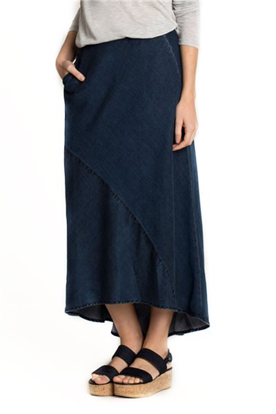 Nic + Zoe - Denim Days Skirt - Rich Indigo
