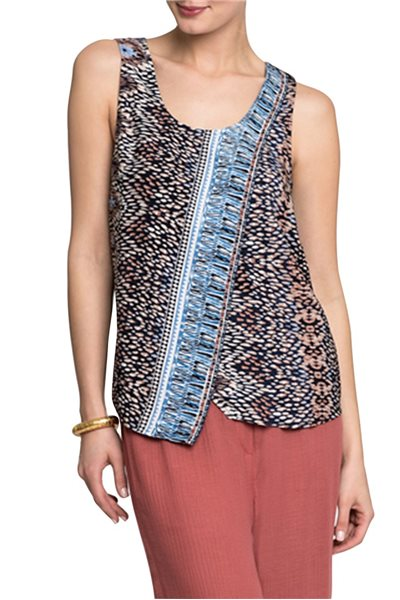 Final Sale Nic + Zoe - Casa Blanca Tank - Multi