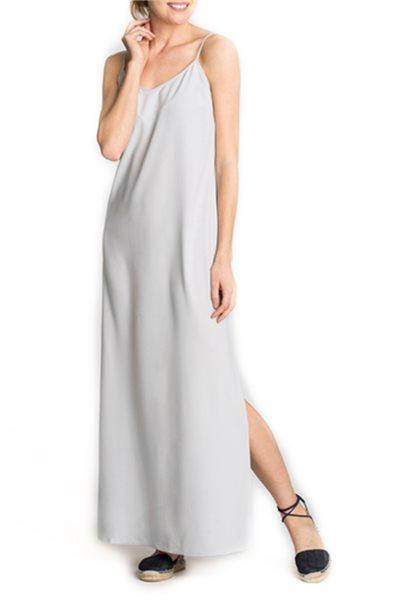Final Sale Nic + Zoe - Pamona Slip Dress - Smoke