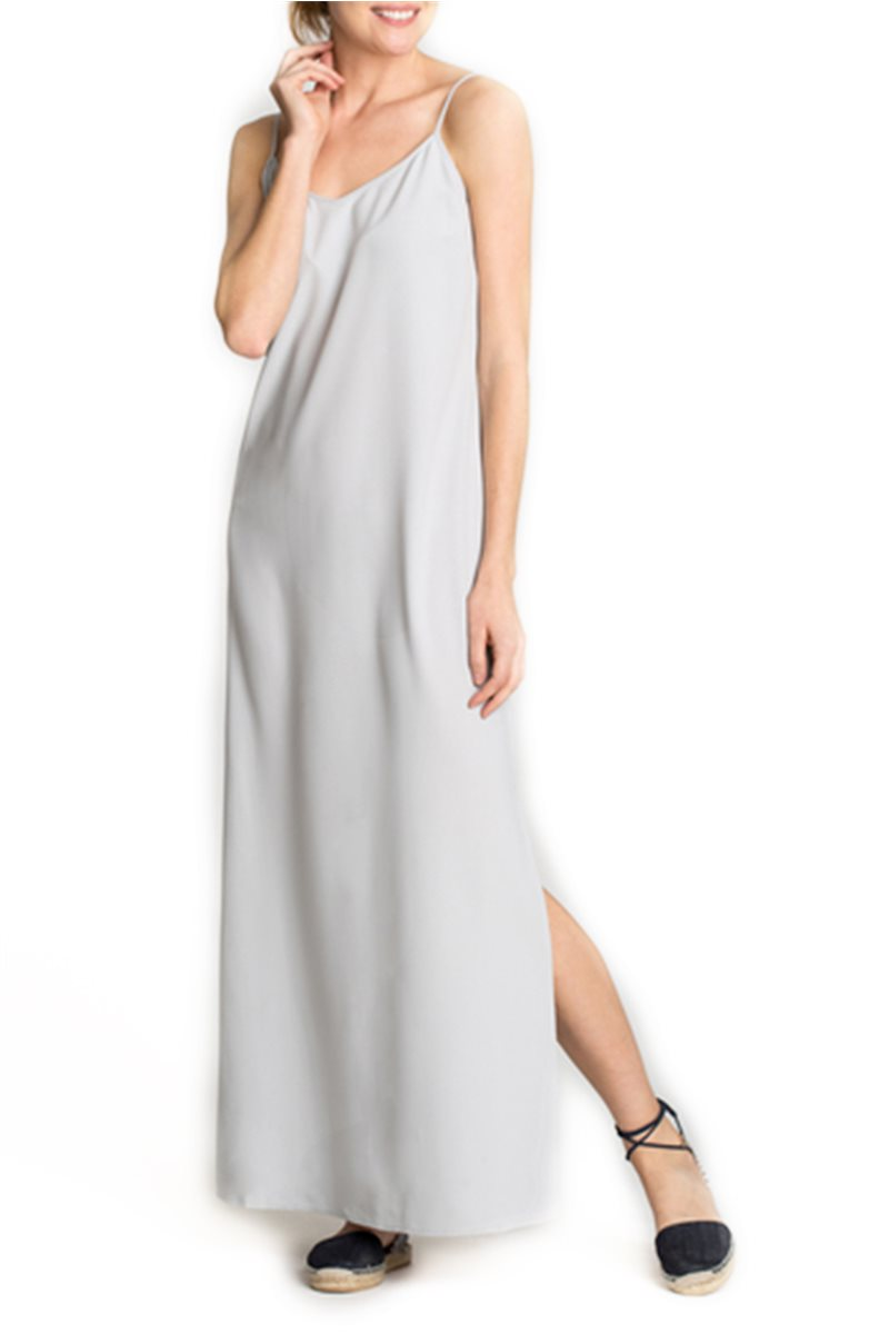Nic + Zoe - Pamona Slip Dress - Smoke
