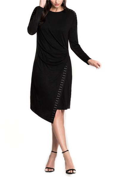 Final Sale Nic + Zoe - Every Occasion Stud Dress - Black Onyx