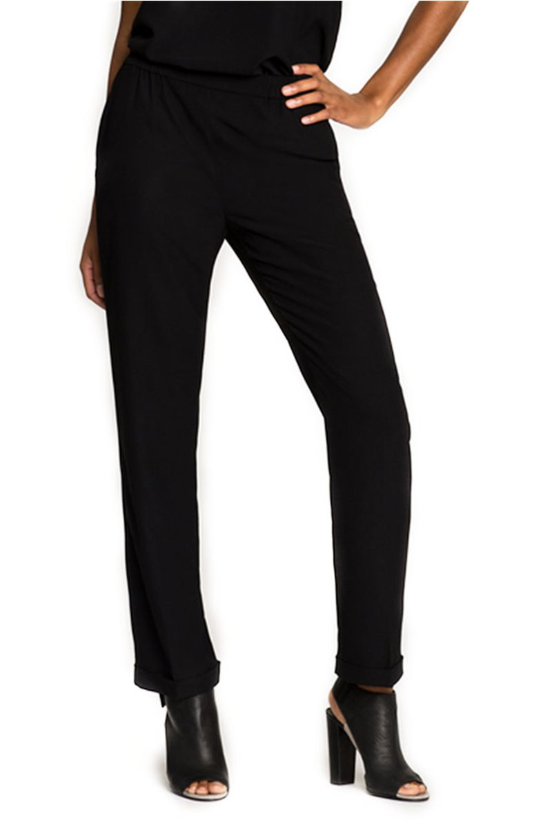 Nic + Zoe - Soft Swing Pant - Black Onyx
