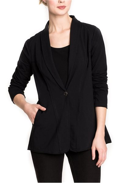 Final Sale Nic + Zoe - The Perfect Jacket - Black Onyx