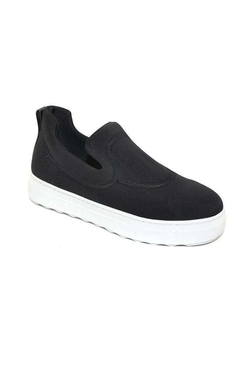 J/Slides - Purl - Black Lycra