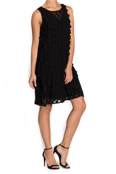 Final Sale Nic + Zoe - Showtime Dress - Black Onyx