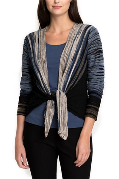 Final Sale Nic + Zoe - Park Slope Cardy - Multi