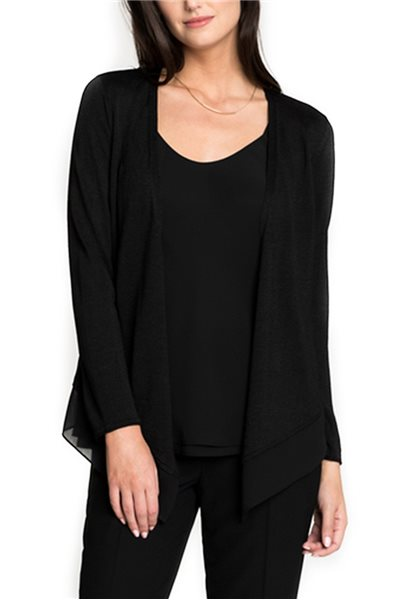 Nic + Zoe - Paired Up Cardy - Black