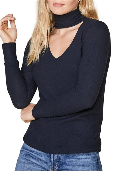 Final Sale LNA - Brushed Detached Turtleneck