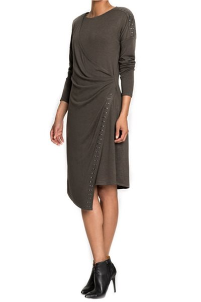 Final Sale Nic+Zoe - Women's Every Occasion Stud Stretch Knit Dress - Terrene