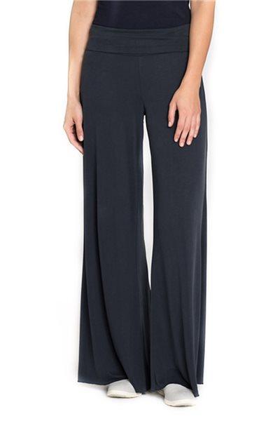 Nic + Zoe - Women's Knit Wide Leg Seasonless Pant - Washed Midnight