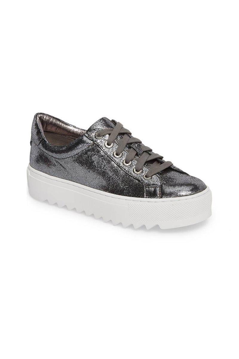 Jslides - Sapphire Platform Sneaker - Pewter