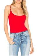 Privacy Please - Women's Bara Bodysuit - Red